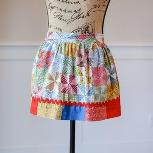 Other - Vintage cotton apron patchwork handmade